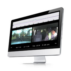 Exception-based video and data are uploaded via a secure wireless connection to the DriveCam review center - and are immediately available to the client.